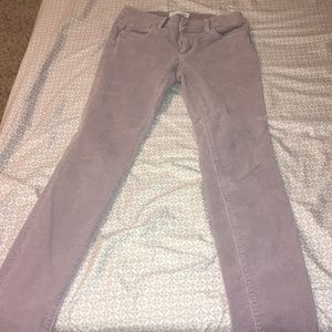 Loft light purple jeans